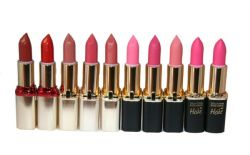 10 x Loreal Color Riche Exclusive Collection Lipsticks | 8 Shades | RRP £85